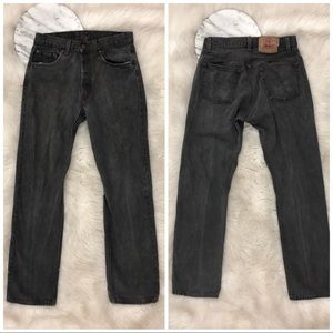 Levi's | Gray Distressed 506 Denim Mom Jeans